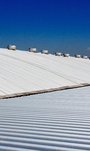 Membrana sintética para telhado