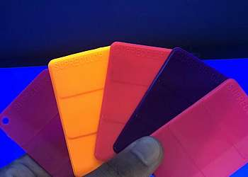 Pigmento fluorescente para resina